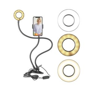 Selfie Ring Light with phone clamp